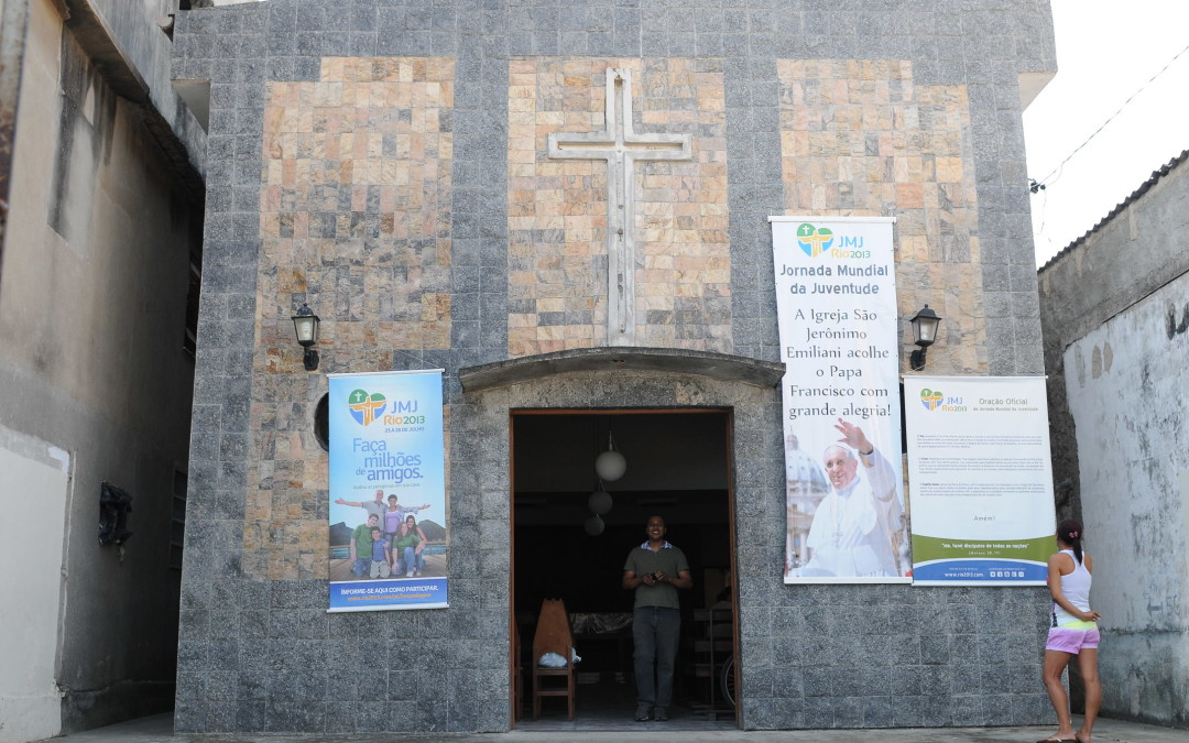 Fotos de Capela onde o Papa vai passar