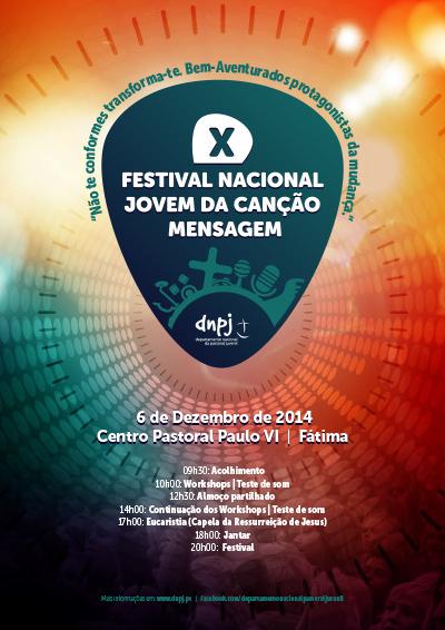 cartaz festival cancao 2014