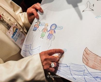 «Os migrantes não são um perigo, mas estão em perigo» – Papa Francisco