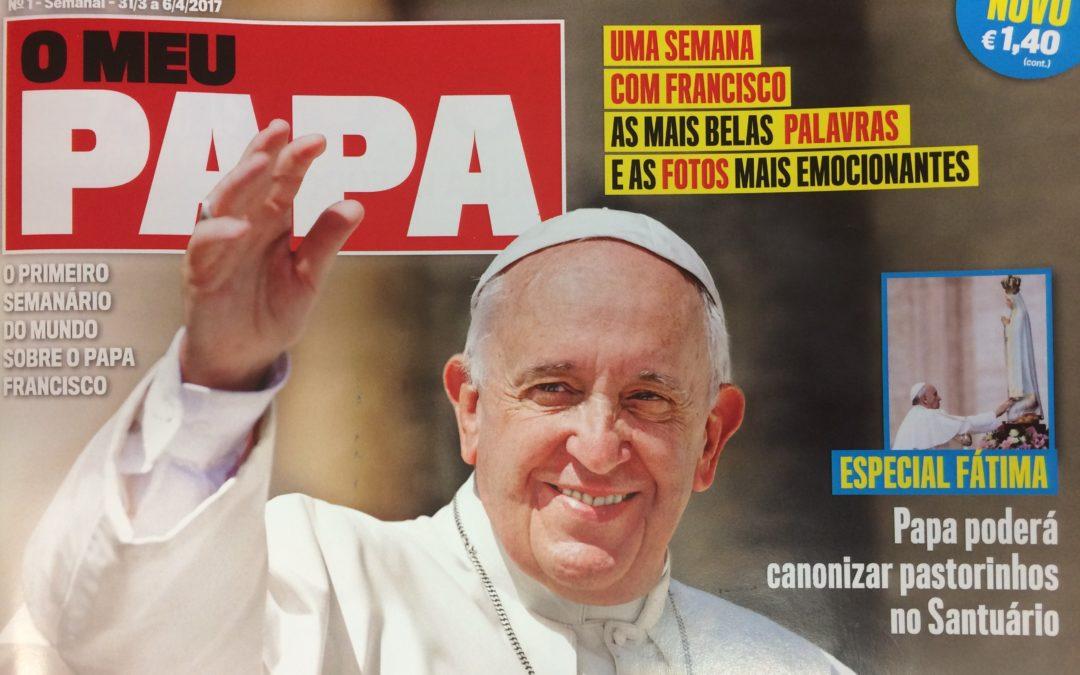 Revista «O Meu Papa», o dia-a-dia de Francisco em português