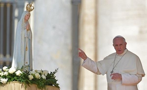 Imagem peregrina «número 1» de Nossa Senhora de Fátima na JMJ 2019