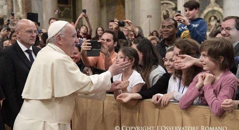 «O Sínodo é para todos os jovens» – Papa Francisco