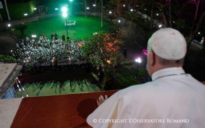 Papa Francisco incentivou jovens egípcios a rezar por todas as pessoas