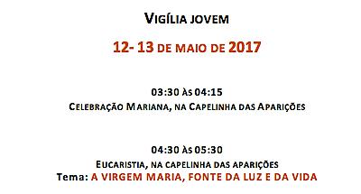 «Vigília Jovem» no Centenário das Aparições