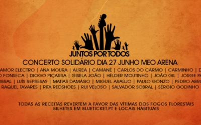 «Juntos Por Todos» – concerto solidário com as vítimas dos fogos florestais