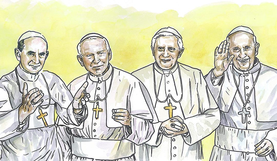«Os Papas do século de Fátima»