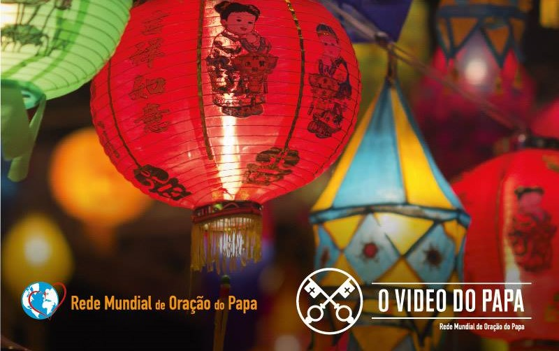 «Testemunhar o Evangelho na Ásia» – oração de Francisco em novembro