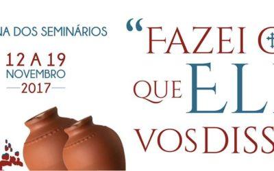Igreja reza pelos jovens na Semana dos Seminários 2017