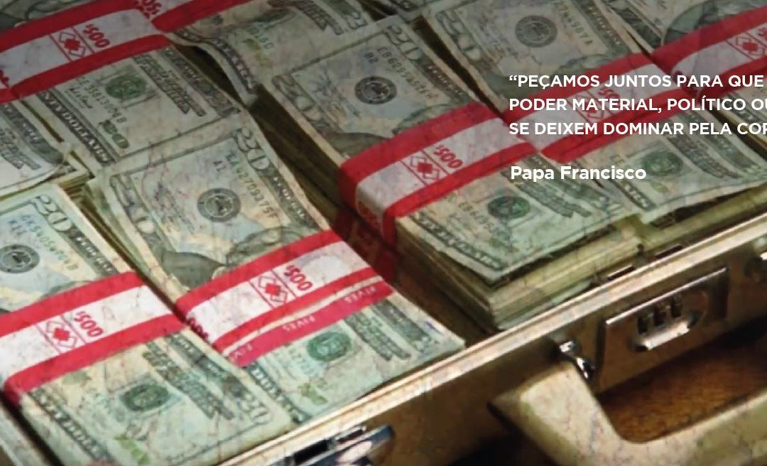 Papa Francisco diz «não à corrupção»