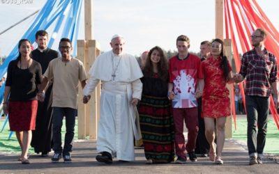 O Papa Francisco conta contigo!! Participa à distância na reunião pré-sinodal (Roma, 19 a 24 de março)