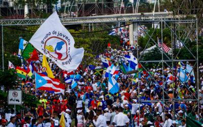 (Cerca) 150 mil pessoas na Missa de abertura da JMJ 2019