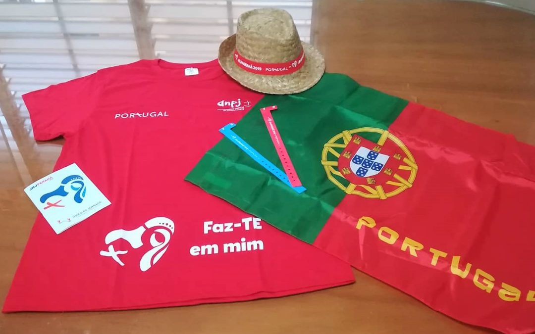 O kit do peregrino JMJ 2019 (de Portugal e do Panamá)