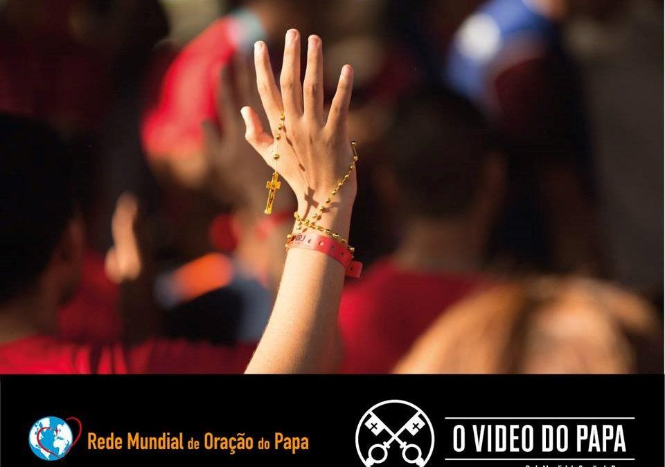 «Jovens na escola de Maria» e ao serviço da paz – «O vídeo do Papa»