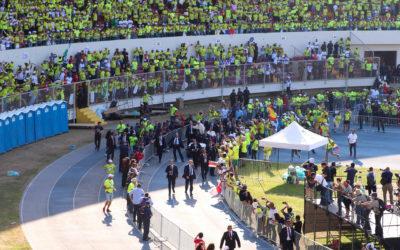 «Um abraço de Portugal» – Voluntária portuguesa agradece ao Papa Francisco JMJ em Lisboa