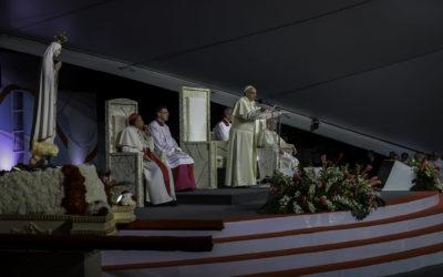 «Maria, a influencer de Deus» – Discurso do Papa Francisco na vigília JMJ 2019