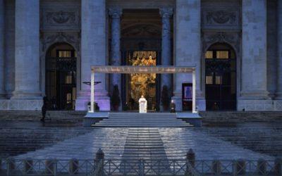 Homilia do Papa Francisco no momento extraordinário de oração em tempo de epidemia