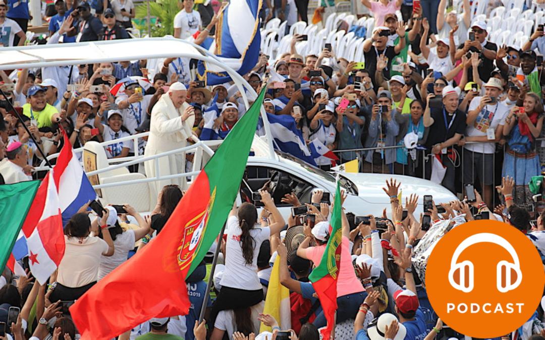 DMJ2020 #1: Podcasts para viver a Semana Santa com o Papa Francisco