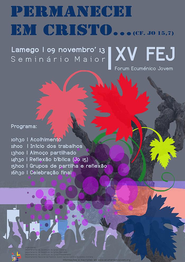 cartaz XV FEJ 2013