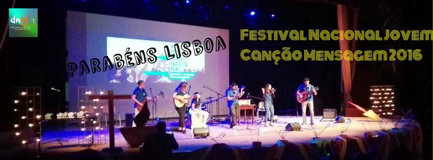 Lisboa venceu Festival Nacional Jovem Canção Mensagem 2016