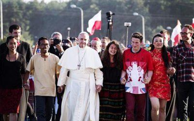 Mensagem do Papa Francisco para a Jornada Mundial da Juventude 2017