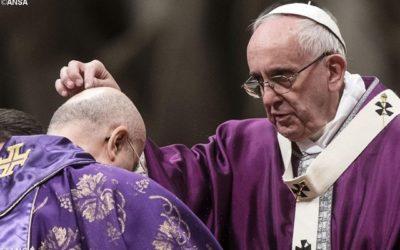 Mensagem do Papa Francisco para a Quaresma 2019