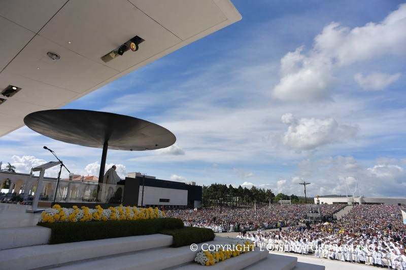 Peregrinação a Fátima: Homilia do Papa Francisco no santuário