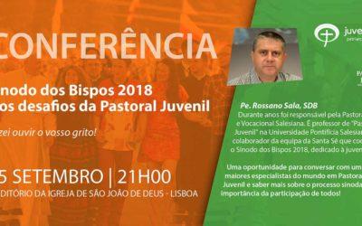 Conferência sobre «Sínodo dos Bispos e desafios da Pastoral Juvenil» em Lisboa