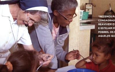 Papa reza pela «missão dos consagrados» no mês das missões