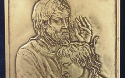 Papa Francisco ofereceu painel com Jesus e São João aos participantes do Sínodo 2018