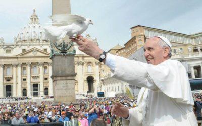 Os jovens na mensagem do Papa Francisco para o Dia Mundial da Paz 2019