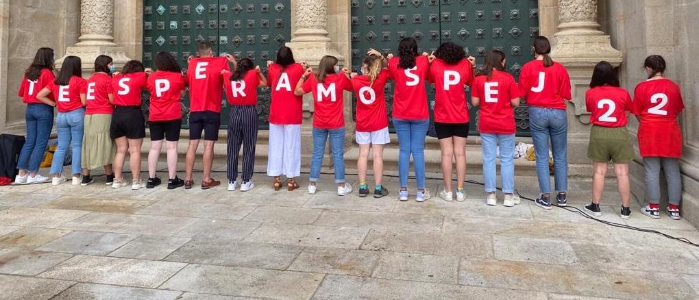 Peregrinação Europeia de Jovens no caminho para a JMJ Lisboa 2023